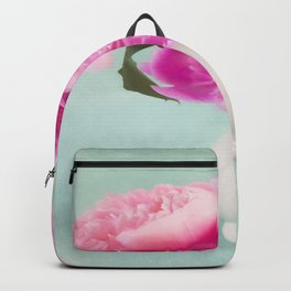 Pastel Peony Bouquet Backpack