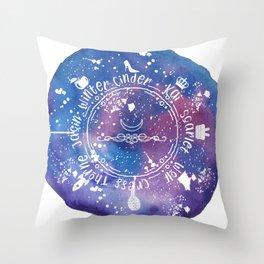 The Lunar Chronicles Throw Pillow