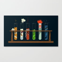 Science with Beaker Canvas Print