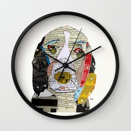 brown the spaniel Wall Clock
