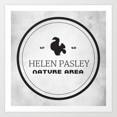Helen Pasley Nature Area Art Print