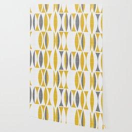 Seventies in Mustard Wallpaper