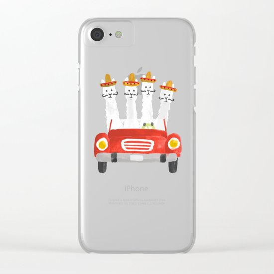The four amigos Clear iPhone Case