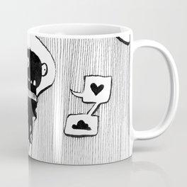 Flying squid – Seppiolina volante Coffee Mug