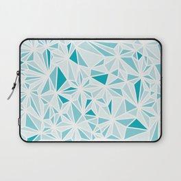 geo blue Laptop Sleeve