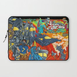 Other Worlds: The Cliffs Near Bravo Nectron Laptop Sleeve