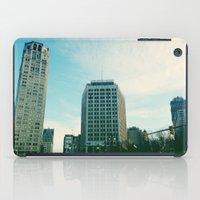 detroit iPad Cases featuring Downtown Detroit by Michelle & Chris Gerard