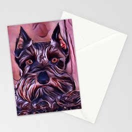 The Miniature Schnauzer Stationery Cards