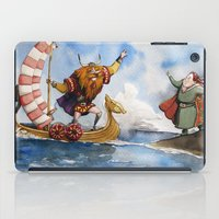 viking iPad Cases featuring Viking by Jose Luis Ocana