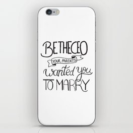 Be the CEO your parents wanted you to marry - girl power quote, feminist motivation iPhone Skin