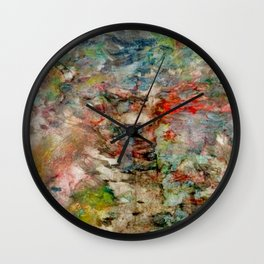 heartbeat in color Wall Clock