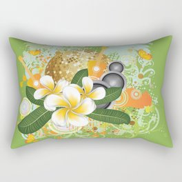 Beach party design Rectangular Pillow