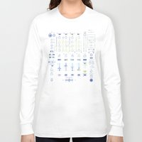 coldplay Long Sleeve T-shirts featuring DJ Mixer by Sitchko Igor
