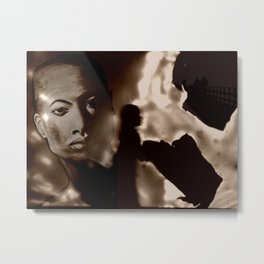 DEPARTURE TO METROPOLIS Metal Print