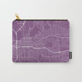 Montgomery Map, USA - Purple Carry-All Pouch