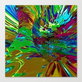 Technicolor Tunnel Canvas Print