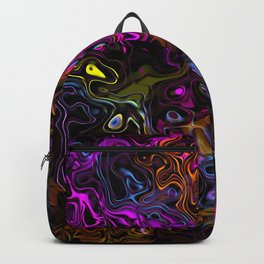 Psychedelic Rainbow Backpack