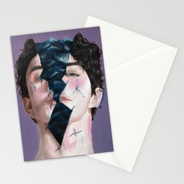 A different kind of pain Stationery Cards