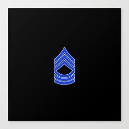 Master Sergeant (Police) Canvas Print