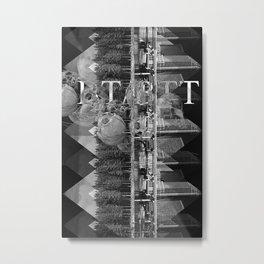 BT/BTT Metal Print