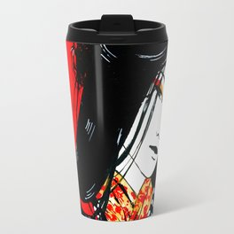 Samurai Girl Travel Mug