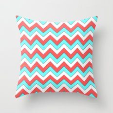abstract triangle  Throw Pillow