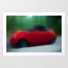 Motion (study) Art Print