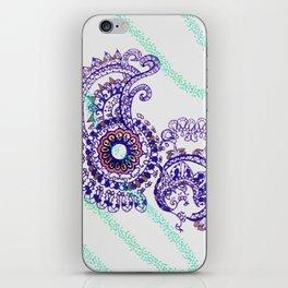 Purple mandala iPhone Skin