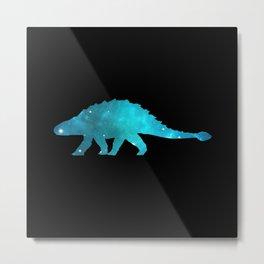 Ankylosaurus Metal Print