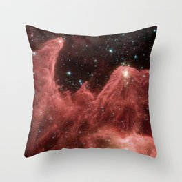 cassiopeia and the raging towers of poseidon   space #06 Throw Pillow