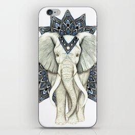 Zen Elephant Mandala iPhone Skin