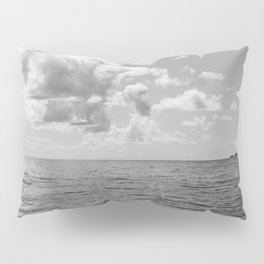 Monochrome Ocean View II Pillow Sham