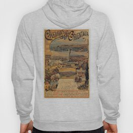 Oriental railways to Constantinople Hoody