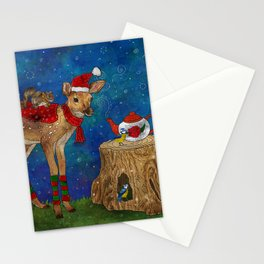 Christmas Tea Party Stationery Cards