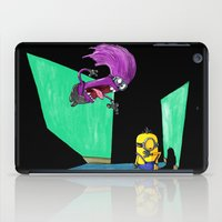 kevin russ iPad Cases featuring Miniocidal Purple Jungle Kevin by Plane Yogurt