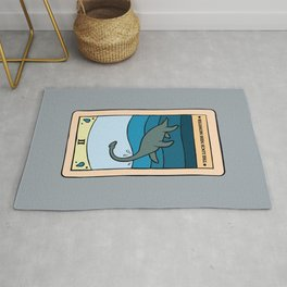 The Loch Ness Monster - Cryptid Tarot Card  Rug