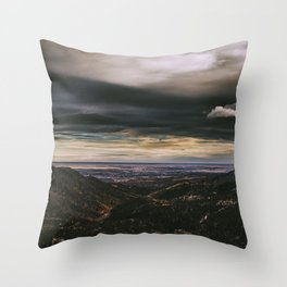Pike's Peak Throw Pillow