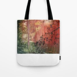 The Light is changing colour.... Tote Bag