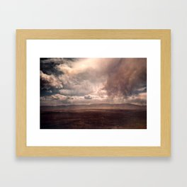 Explorations with Space: No. 1 Framed Art Print