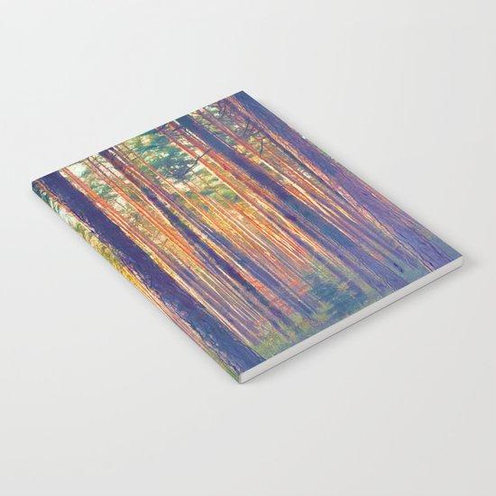 Forest - Filtering light Notebook