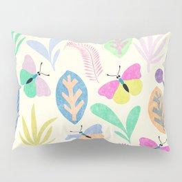 Flower and Butterfly II Pillow Sham