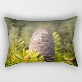 Coniferous tree branch Rectangular Pillow