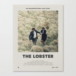 The Lobster (2015) Minimalist Poster Canvas Print