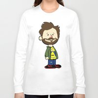charlie brown Long Sleeve T-shirts featuring You're Illiterate, Charlie Kelly by KINGOFTHERATS