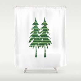 Happy Holiday - Holidaze Shower Curtain