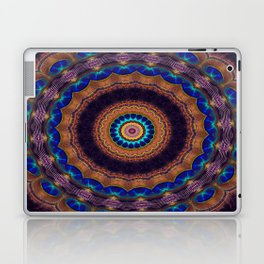 Peacock Pinwheel Laptop & iPad Skin