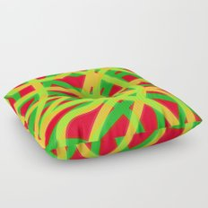 lively lines Floor Pillow