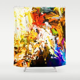 Heavy Weight of the Burdened Soul JVO2019 Shower Curtain