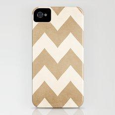 Biscotti & Vanilla - Beige Chevron Slim Case iPhone (4, 4s)