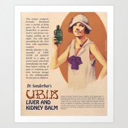Dr. Sonderbar's Ubik Art Print